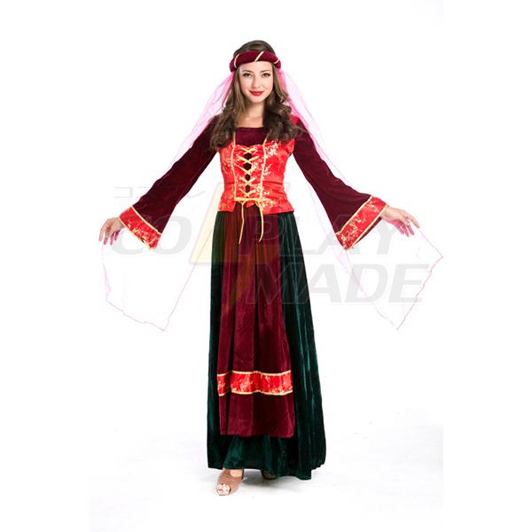 Fashion Womens Arabian Dancer Halloween Folk Costume Cosplay