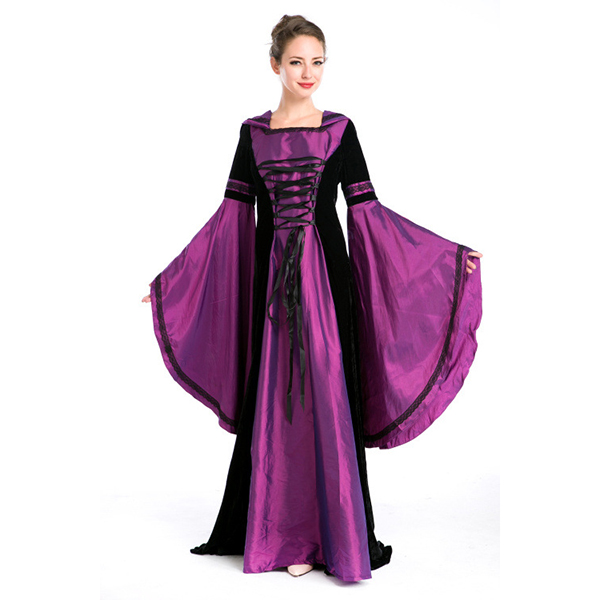 Female Magician Dress Carnival Cosplay Costume