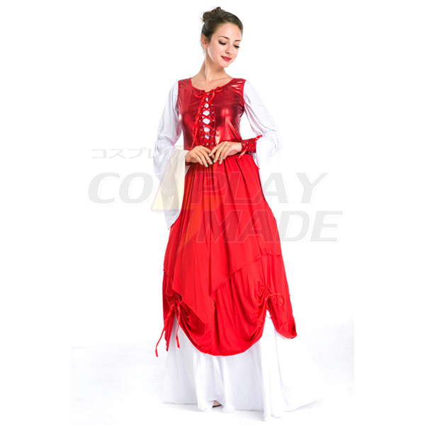 Court Costume Festival/Holiday Costumes Dress Female Polyester Cosplay
