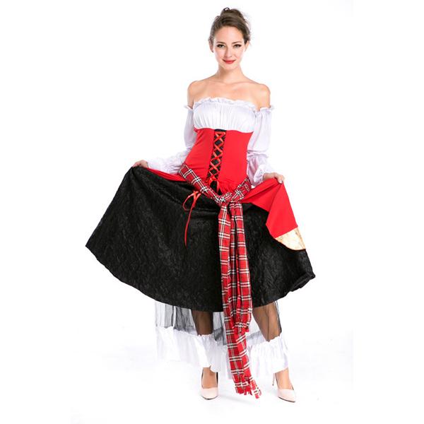 Erwachsene Prinzessin Bier Mädchen Kleider Halloween Kostüme Cosplay Kostüme