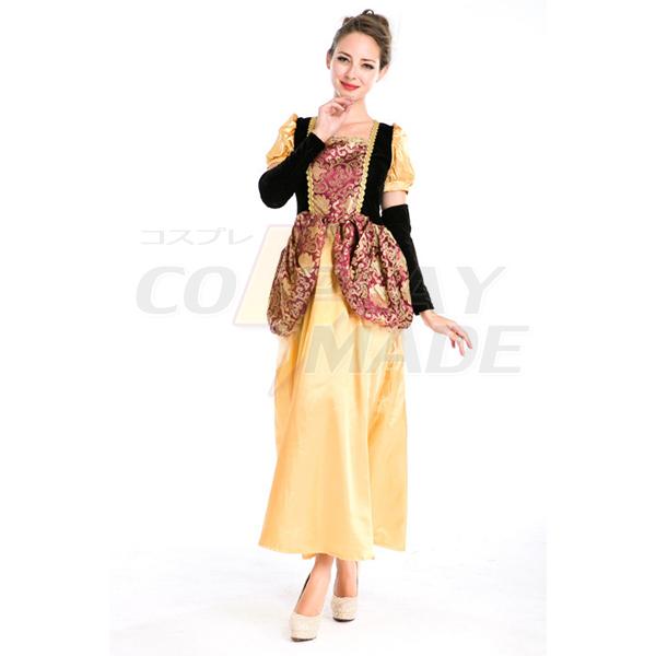 Retro Palace Griechische Göttin Kleider Prinzessin Kleider Arabischia Halloween Faschingskostüme Cosplay Kostüme