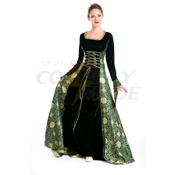 Sexy Kirche Göttin Lange Kleider Halloween Cosplay Kostüme Partei Kostüme