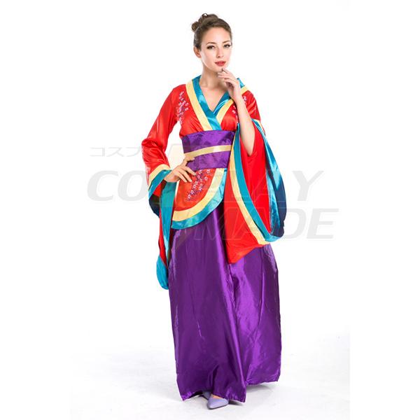 Beliebte japanische Geisha Kleider Halloween Faschingskostüme Cosplay Kostüme