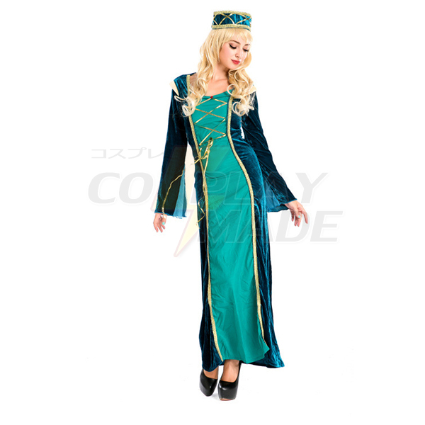 popular medieval princess purple dress halloween cosplay