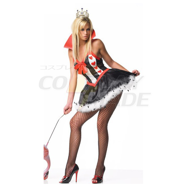 Leg Avenue Sexy Queen of Hearts Clothes Halloween Cosplay Costume