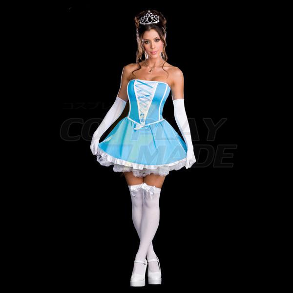 Sexet Prinsesse/Dronning Kjoler Halloween Cosplay Kostumer Fastelavn