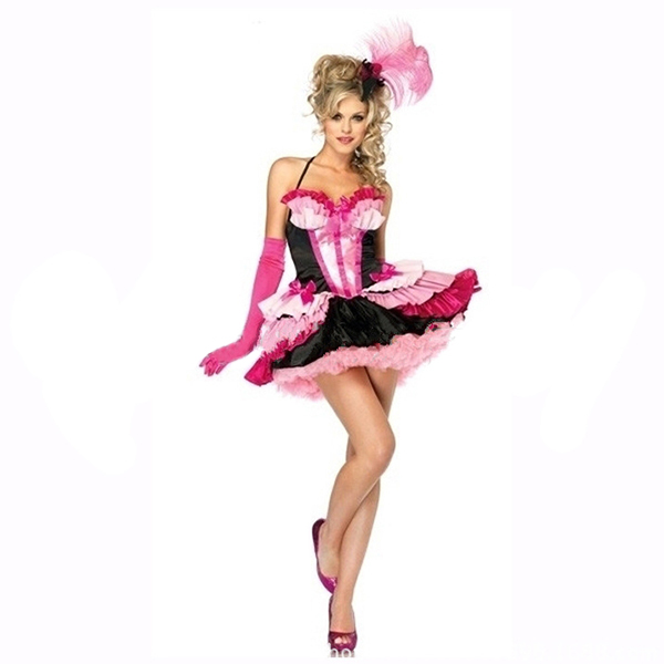 Pretty Pinky Flamingo Holiday Party Costume Cosplay