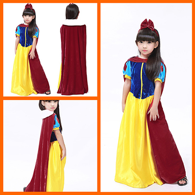 Kids Papaya Wear Snow White Costume Halloween Costume