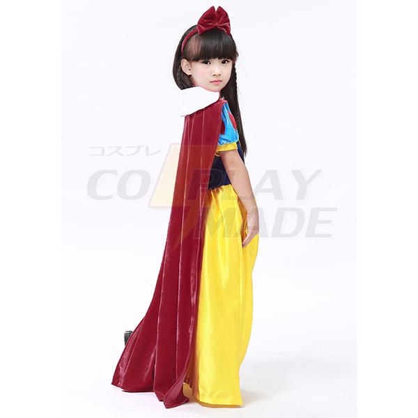 Børnene Papaya Wear Snehvide Kostume Halloween Kostume Fastelavn