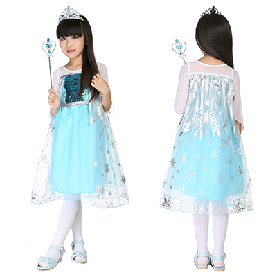 The Latest Hot Style Children Princess Queen Halloween Cosplay Costume