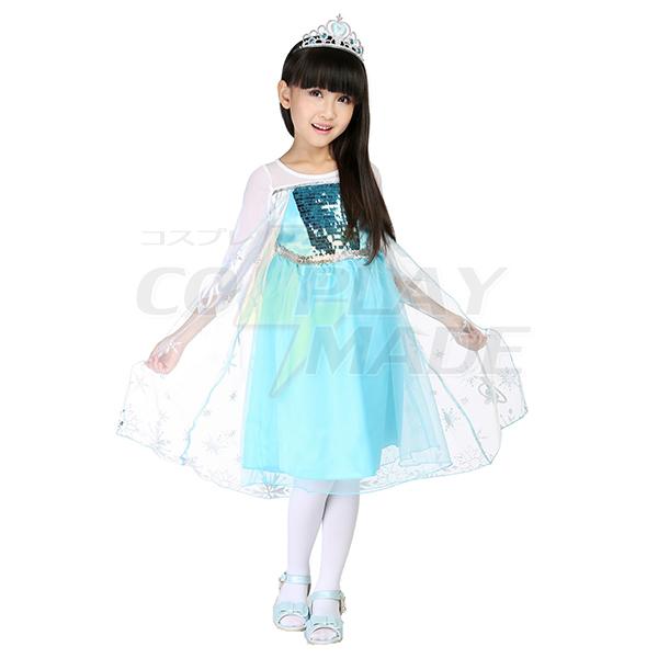 Den Nyeste Varm Stil Børn Prinsesse Dronning Halloween Cosplay Kostume