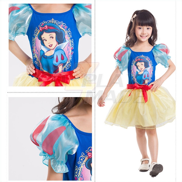 Japansk Børn princess Kjoler Eventyr Børn Tøj Halloween Kostume