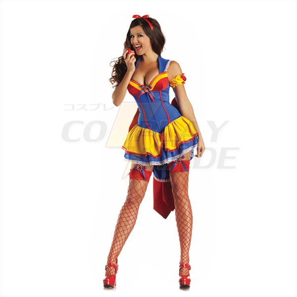 Womens Ball Dress Sexy Queen Stage Halloween Cosplay Costume