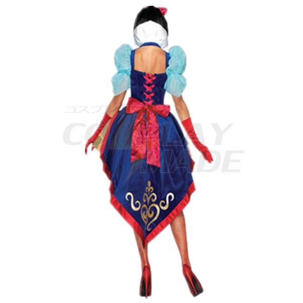 Erwachsene Deluxe Schneewittchen Halloween Faschingskostüme Cosplay Kostüme