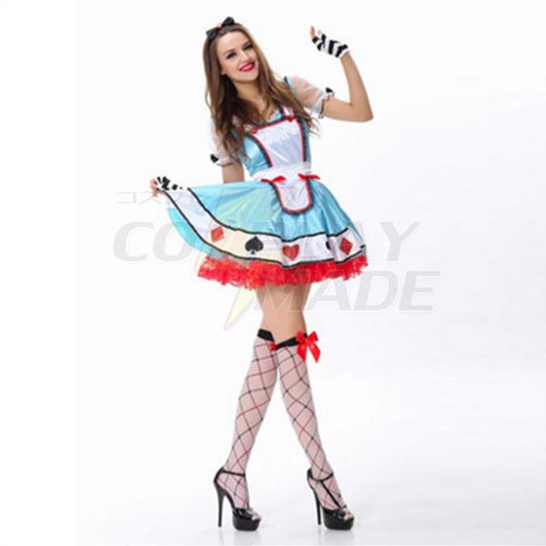 Light Blau Alice In Wonderland Storybook Kostüme Halloween