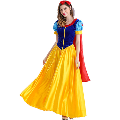 Womens Sexy Snow White Halloween Costume Including Petticoat
