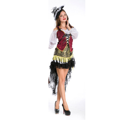 Sexy Pirate Female Costume Halloween