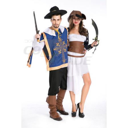 Western Game Unifm Temptation Halloween Costume Cosplay