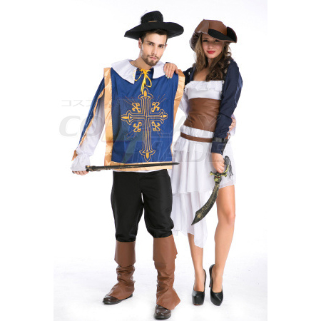 Western Spil Unifm Temptation Halloween Kostume Cosplay