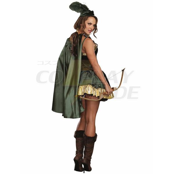 Damen Robin Hood Kostüme Halloween Cosplay Kostüme