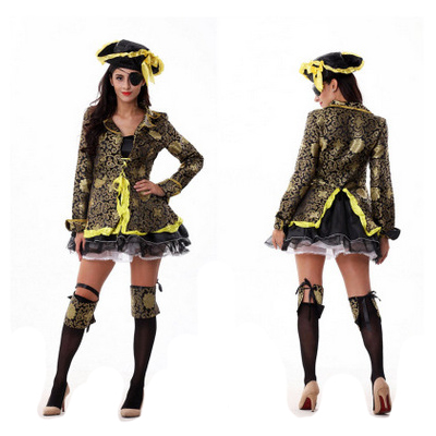 Damen Pirate Damen Kostüme Cosplay Kostüme Halloween