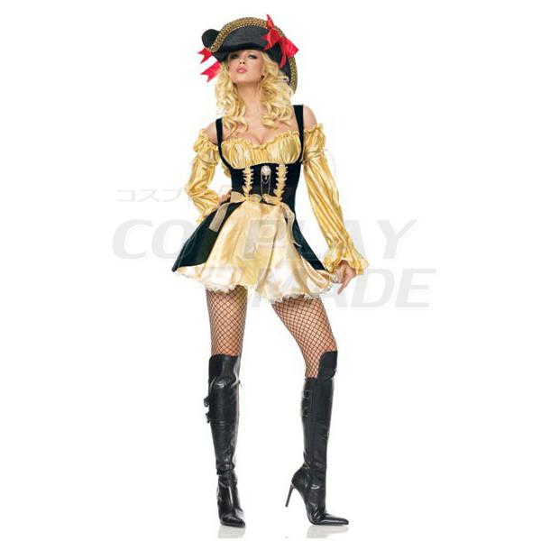 Sexy Pirate Kostüme für Dame Halloween Cosplay Kostüme