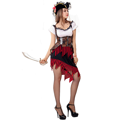 Game Irregular Skirt Costume Halloween Cosplay Outfit