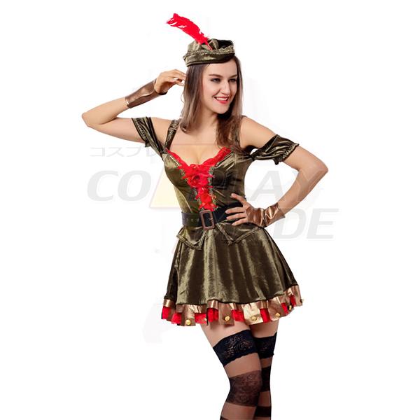 Sexy Frau Robin Kostüme Pirate Halloween Kleidung
