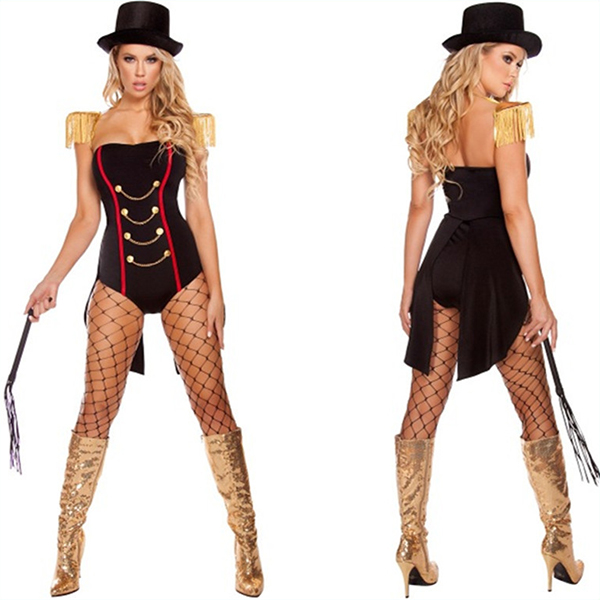 Sexy Ravishing Ringleader Circus Dress Ringleader Costume Halloween