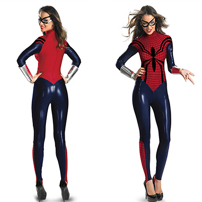 Popular Spider Girl Bodysuit Adult Costume Halloween Cosplay
