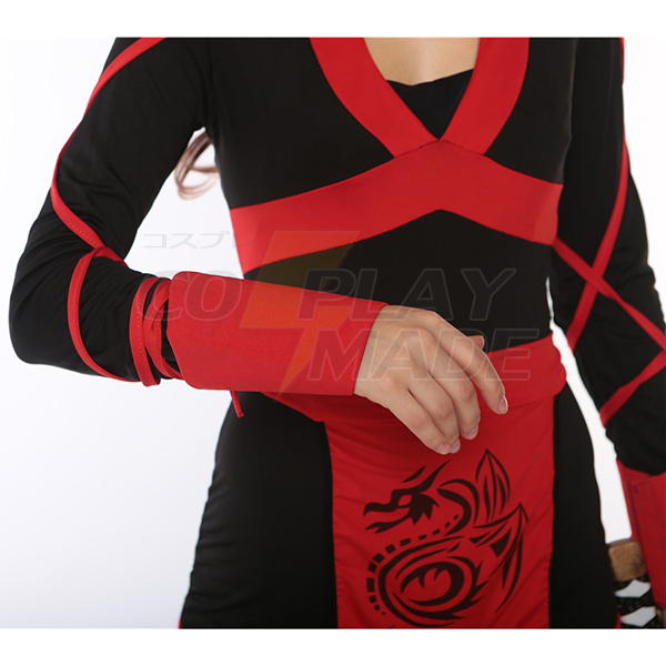 Weiblich Ninja Kostüme Hallloween Cosplay Kostüme