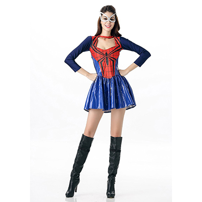 Halloween Superwomen Spider-Femmes Costume Cosplay Carnaval