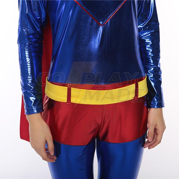 Damen Superman Faschingskostüme Cosplay Kostüme Halloween