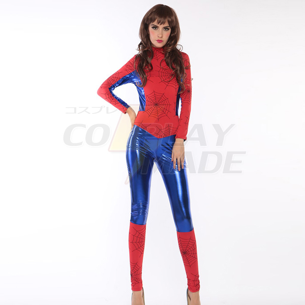 Damen Superman Bodysuit Faschingskostüme Cosplay Kostüme Halloween