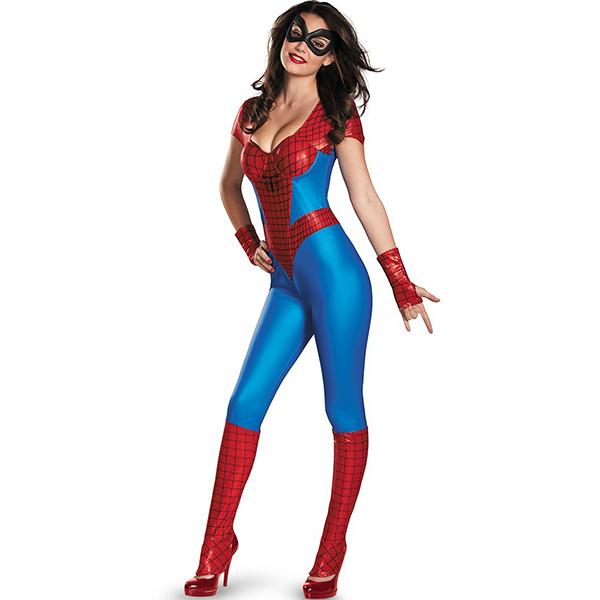 Disguise Women\'s Spider-Girl Bustier Costume Halloween Cosplay
