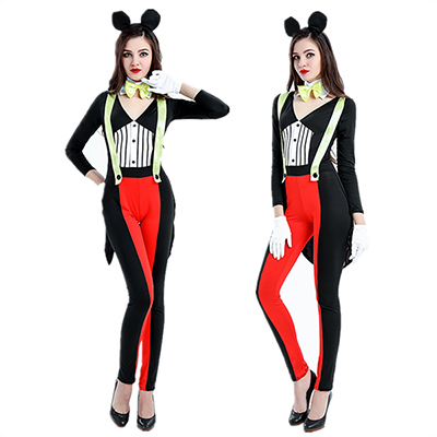Minnie Mouse Mickey Girls Womens Halloween Costume Cosplay