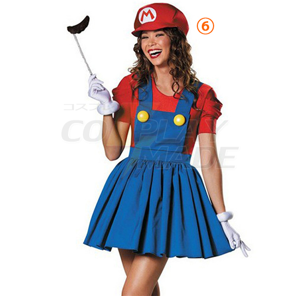 Popular Super Mario Bros Cotume Cosplay Halloween Cthoes