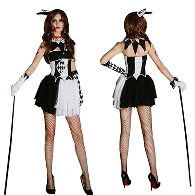 Halloween Fun Sexig Witty Eventyr Kostymer Cosplay Karneval