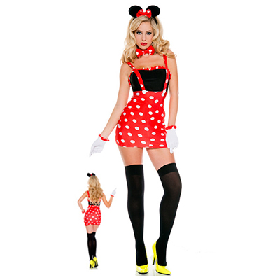 Mickey Mouse en Minnie Mouse Kostuum Cosplay Halloween