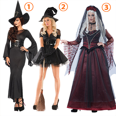 Adult Immortal Vampire Bride Velvet Dress Gothic Costume Cosplay