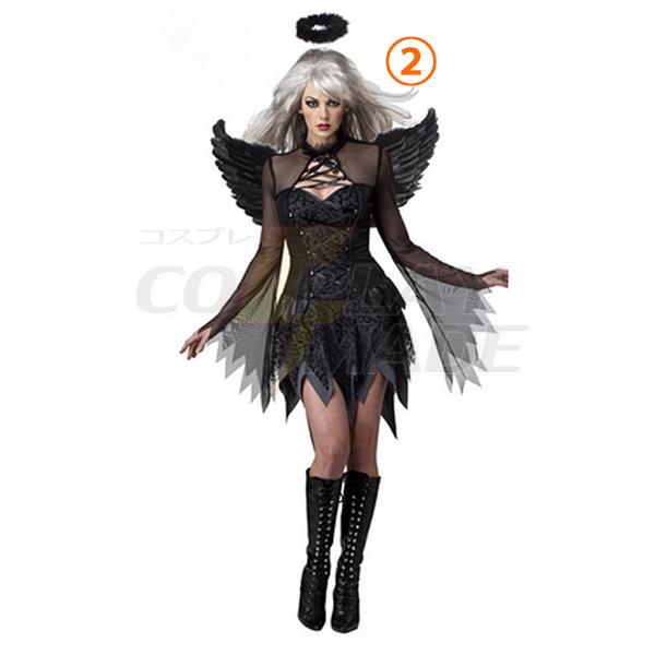 Damen Sexy Fallen Engel Kostüme Halloween Cosplay Kostüme