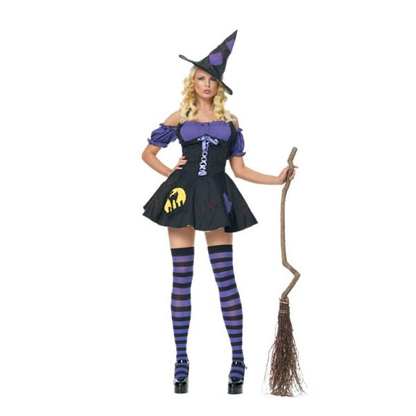 Damen Magician Hexe Kleider Sexy Lingerie Mädchen Kostüme Cosplay Kostüme Halloween