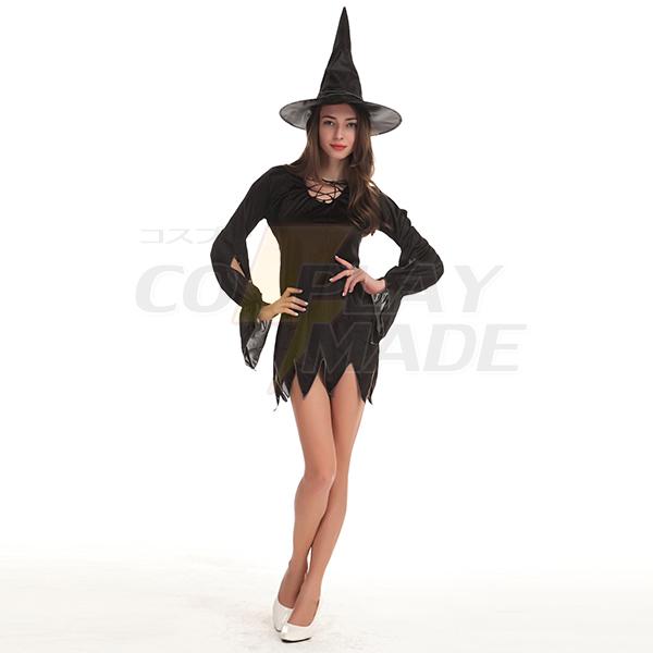 Sexy Mode Schwarz Kleider Halloween Kostüme Cosplay Kostüme