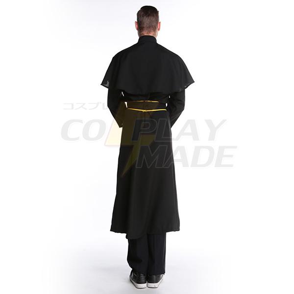 Beliebt Herren Priest Kostüme Cosplay Kostüme Halloween Schwarz