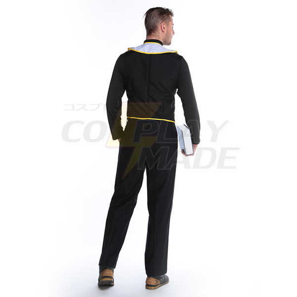 Mens Missionary Costume Adult Priest Robe Costume Cosplay