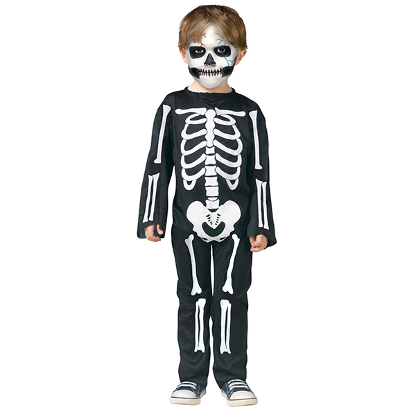Kids Skeleton Skin Anzüge Bones Halloween Fancy Kleider Kostüme