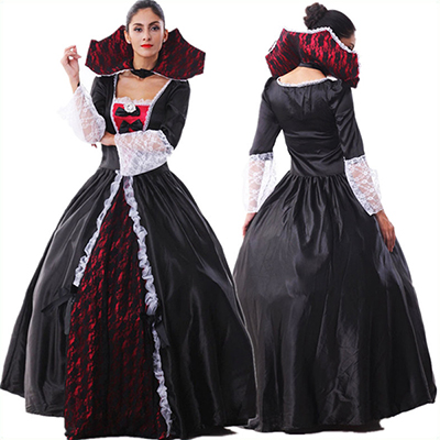 Womens Maleficent Evil Queen Halloween Costume Cosplay