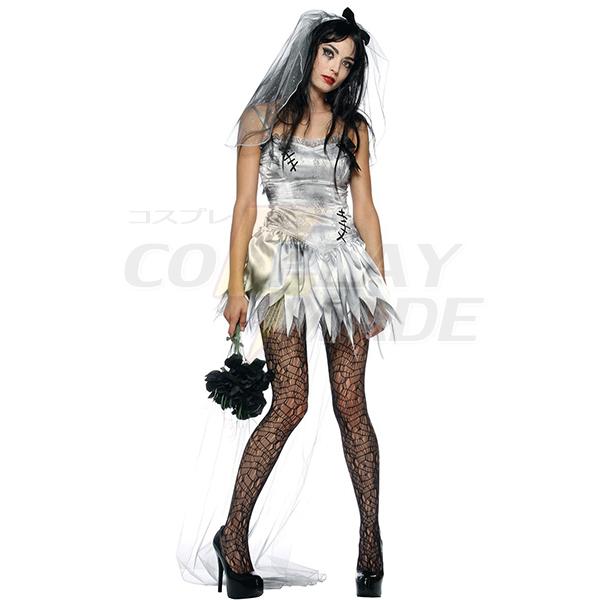 Damen Sexy Zombie Braut Kostüme Cosplay Kostüme Halloween