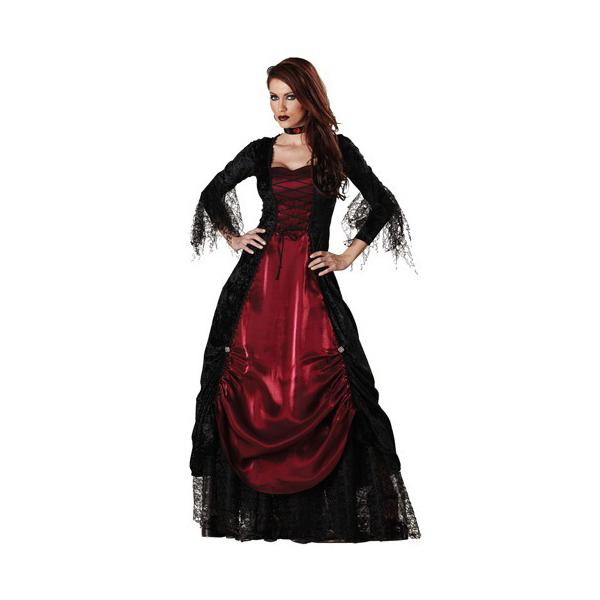 Popular Womens Gothic Vampiress Costume Cosplay Halloween
