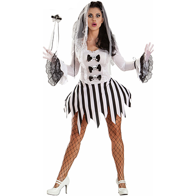 Womens Ghost Girl Costume Cosplay Halloween